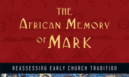 "Book Review: ""The African Memory of Mark"" by Thomas Oden"