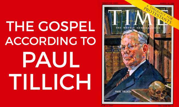The Gospel According to Paul Tillich: On the Human Condition, Sin (2)
